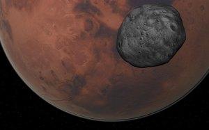Phobos and Mars