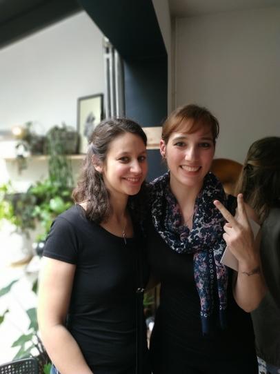 Avec Céline Chevet, la gagnante du Plib 2019